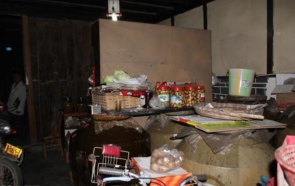 家里空间较小,放满了杂物