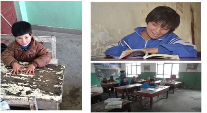 贫困地区学生